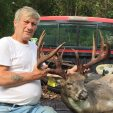 Arthur Zerbe of Pennsylvania with his 208-inch buck he killed during the 2016 bow season.