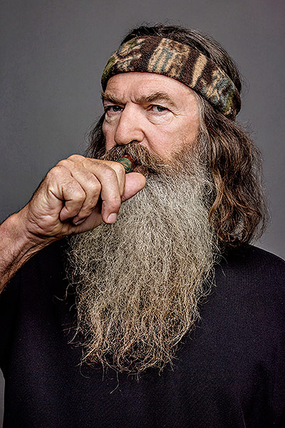 Phil Robertson, father of the Duck Commander and Duck Dynasty crew