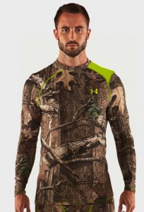 Under Armor Scent Control apparel helps keep odors at bay when you're afield.