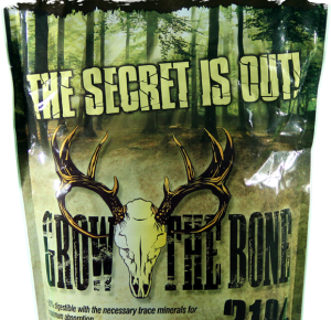 A bag of Grow the Bone retails for about $15.99.