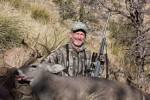 This nice 10-point Coues deer was taken  at 350 yards in January 2012 in Chihuahua, Mexico with the .257 Wby. Mag. and Robb's handloads.