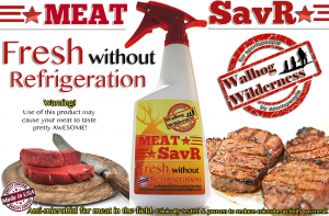 Meat SAVR Citric Acid Spray