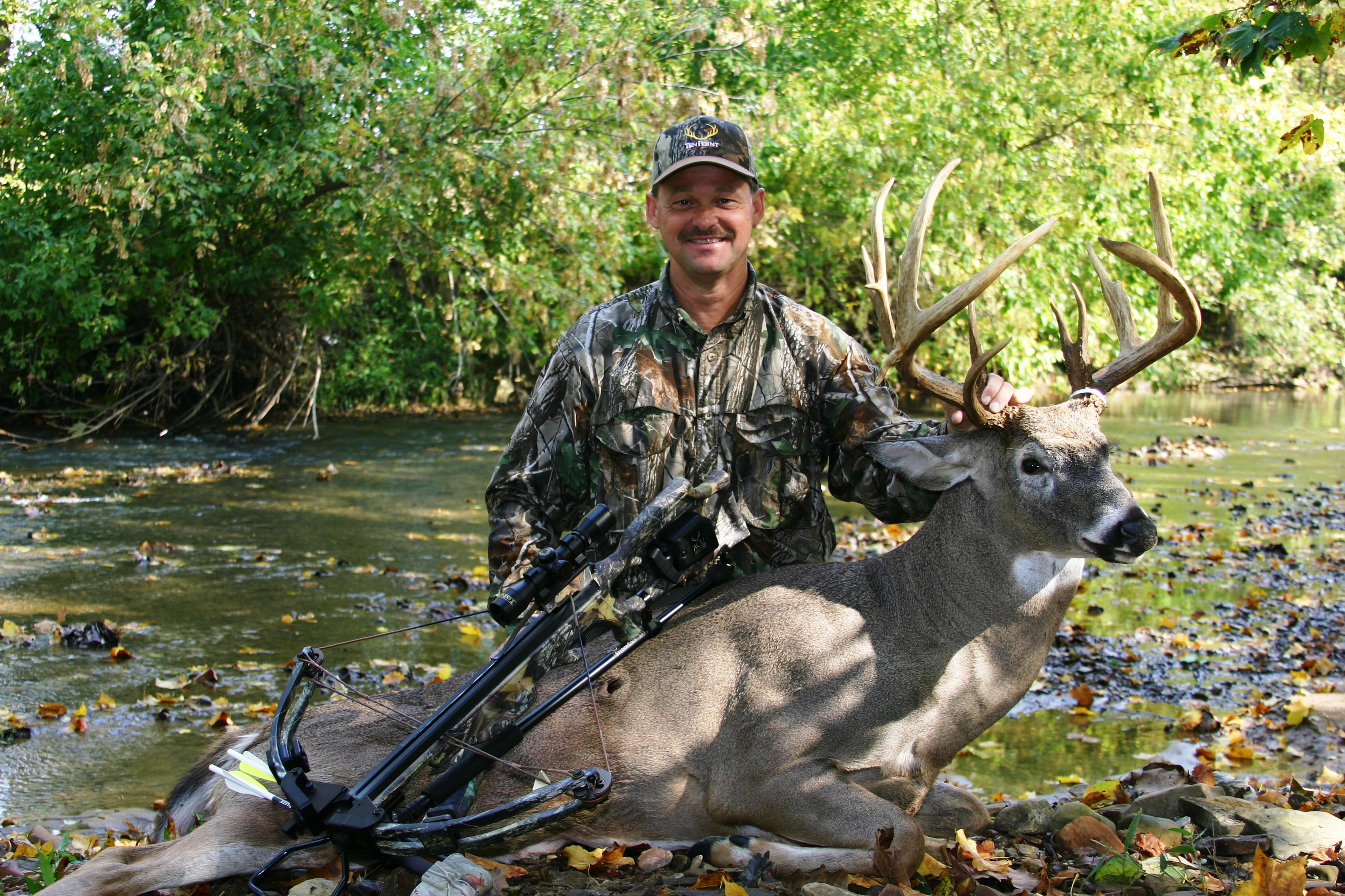 Rick Bedar, founder of TenPoint and Wicked Ridge crossbows.