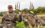 Don Higgins with his home-grown Illinois bruiser that scored 176. (Photo: Don Higgins)