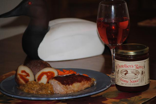 Chatellier's Rare Game Sauce is perfect for venison recipes