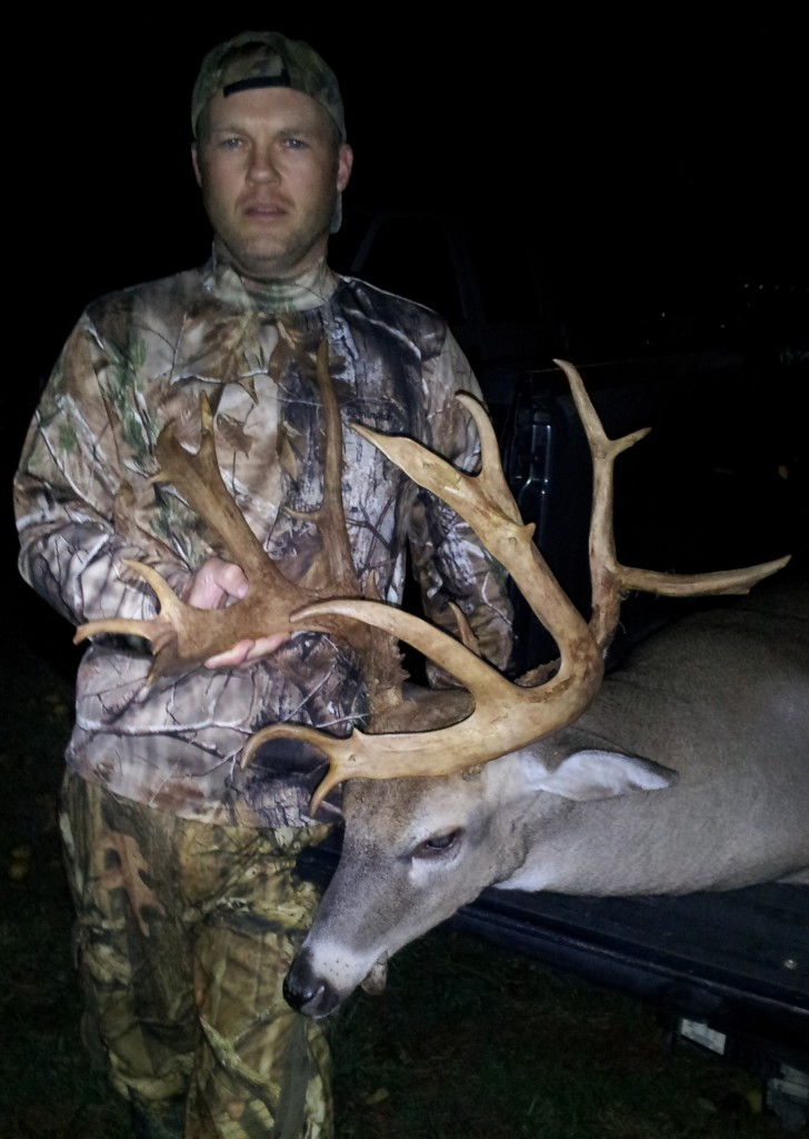 Ed Muse with his giant Virginia buck taken Oct. 6.