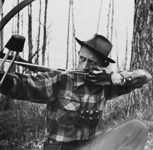 Fred Bear got many hunters interested in archery and still is a revered figure.