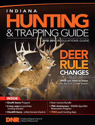 Convenient license option for deer hunters for Fishing license indiana