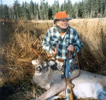 Larry Benoit was a deer hunting legend who inspired many hunters interested in deer, tracking and becoming better woodsmen.