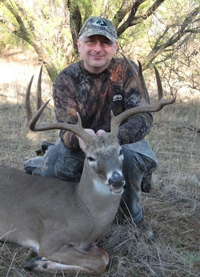 Texas buck from reader