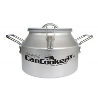 The CanCooker Jr. is half the size of the large model but turns out the same great meals!